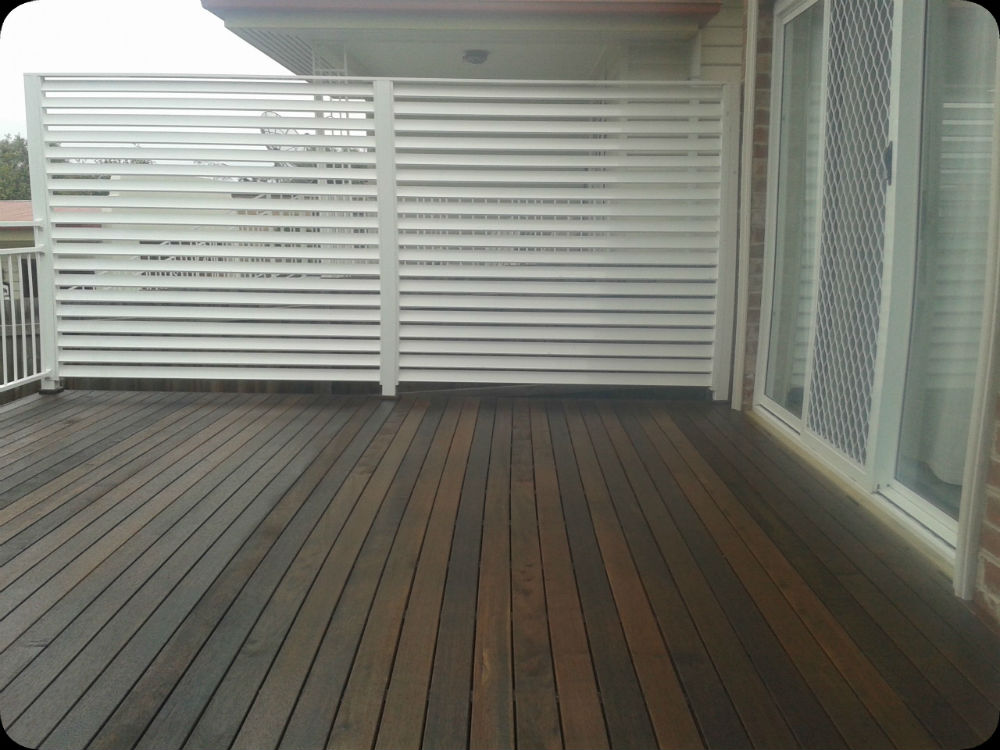 2nd Coat Of Feast Watson Wet Look Deck Part 76