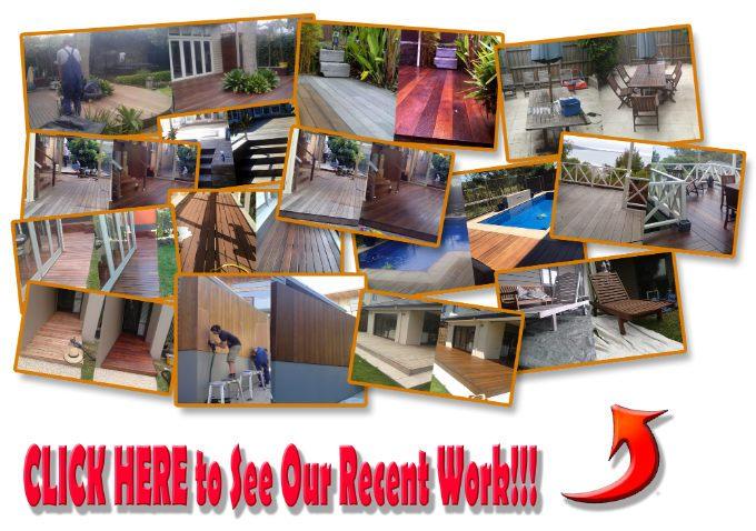 Recent deck restorations