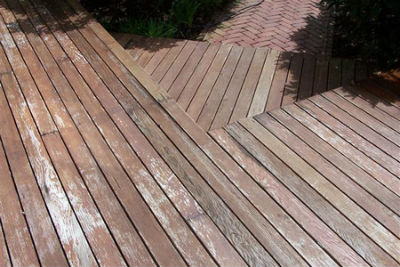 faded decking coating